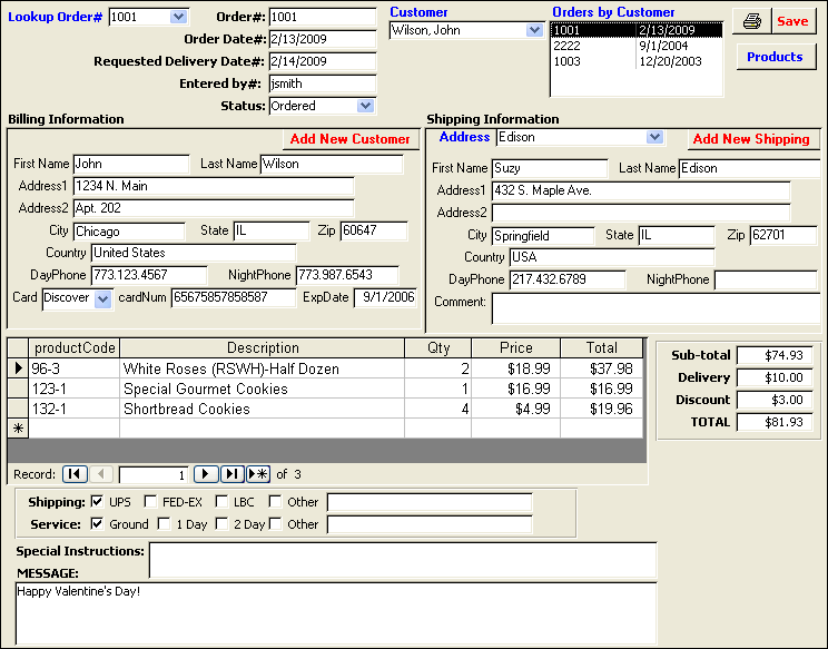 Database User Interface Design Examples a Well Designed User-interface
